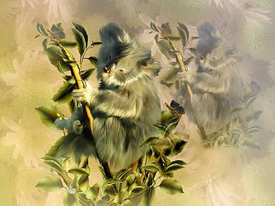 Cuddly Koalas Art Print