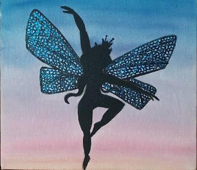 Dancer Mixed Media - Dancing Fairy Queen by Amy Lauren Gettys