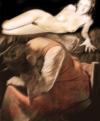 Danse De La Memoire Art Print by Sandro Rossi