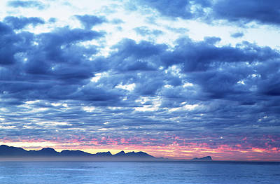 Dawn Over False Bay 2 Art Print by Neil Overy