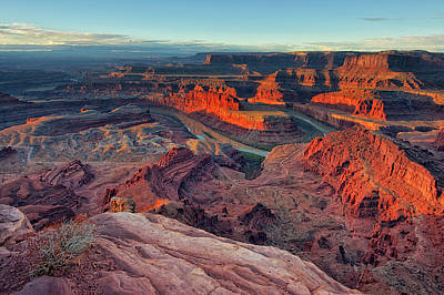 Physical Geography Photograph - Dead Horse Point by Lorenzo Marotti Campi