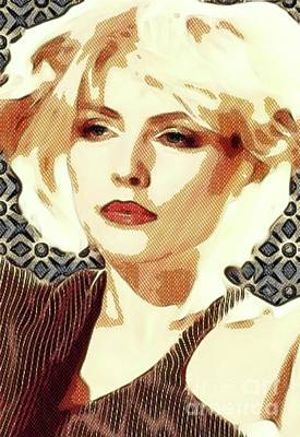 Musicians Digital Art Rights Managed Images - Debbie Harry, Blondie Royalty-Free Image by Esoterica Art Agency