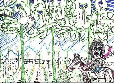 Art Is My Bliss Mixed Media - Dental Floss Tycoon by Robert Wolverton Jr