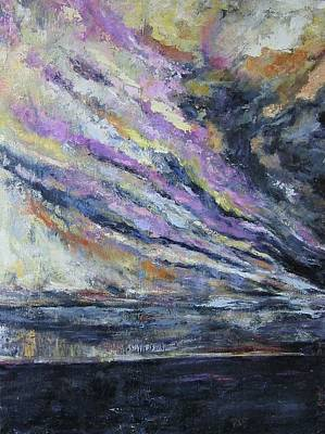 Dispelling Storm Art Print by Debora Cardaci