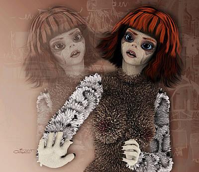 Hurt Digital Art - Do Not Hurt Me by Jutta Maria Pusl