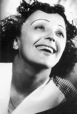 Edith Piaf Art Print by Granger