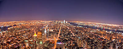 Horizon Over Land Photograph - Empire State Building 86th Floor Observatory by James DiBianco Jr