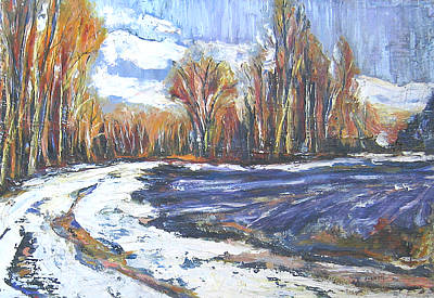 Painting - End Of Winter by Debora Cardaci