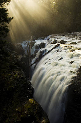 Nanaimo Photograph - Englishman Falls 2 by Bob Christopher