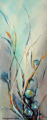 Nature Abstract Painting - Essor by Francoise Dugourd-Caput