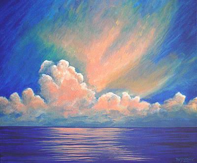 Evening Sky Art Print by Dee Youmans-Miller
