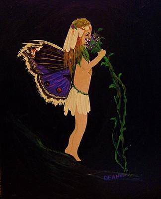 Painting - Fairy Girl by Deahn      Benware