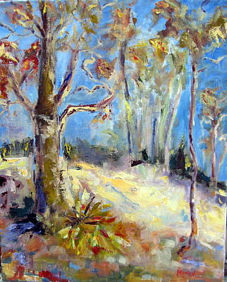 Painting - Fall Landscape by Brent Moody