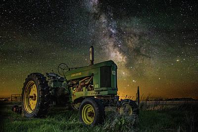 Photograph - Farming The Rift 3 by Aaron J Groen