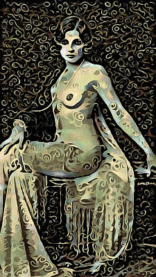 Surrealism Royalty-Free and Rights-Managed Images - Femme Fatale by Susan Maxwell Schmidt