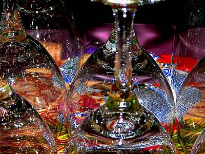 Photograph - Fiesta Glasses by Terri Thompson