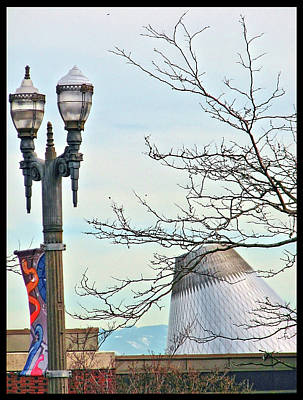 Art Print featuring the photograph Finial Faux Pas by Chris Anderson