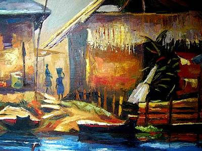 Communal Painting - Fisherman Paradise by Timi Kakandar
