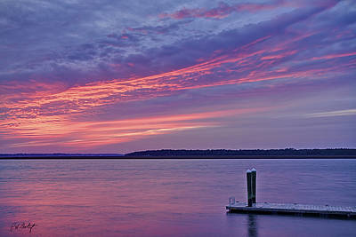 Beaufort County Photograph - Floating Dock by Phill Doherty