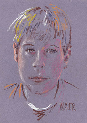 Drawing - Fred Jr. by Donald Maier