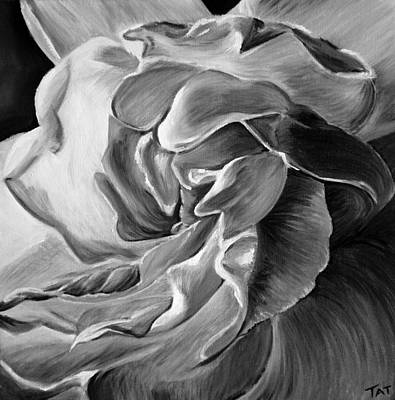 Innocence Painting - Gardenia IIi by Tatjana Popovska