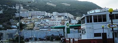 Photograph - Gibraltar Hillside Homes Uk by John Shiron