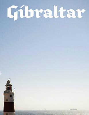 Photograph - Gibraltar Lighthouse II Uk by John Shiron