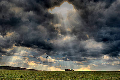 Farm Scene Photograph - God Provides by Emily Stauring
