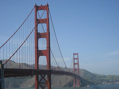 Sight Seeing San Francisco Photograph - Golden Gate by Ariadne Sandbeck