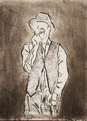 Musicians Drawings - Gordon Downie  by Orange Finch Designs