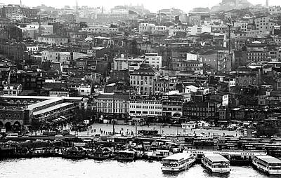 Photograph - Greetings From Istanbul by John Rizzuto