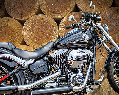 Photograph - Harley 103 by Gene Parks