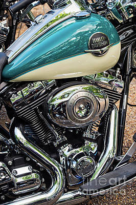 Harley Davidson Road King Art Print