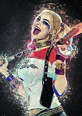 Comics Royalty-Free and Rights-Managed Images - Harley Quinn by Zapista Zapista
