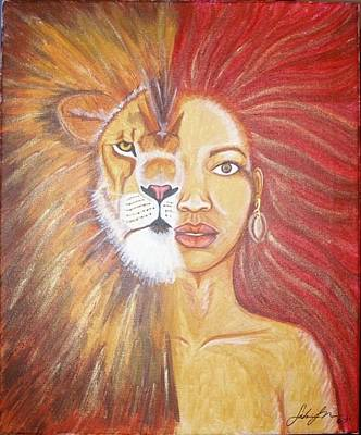 Heart Of A Lion Original by Sabrina Solomon