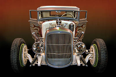 Hot Rod Lincoln Too Art Print by Bill Dutting