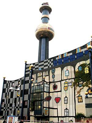 Hundertwasser Building Art Print