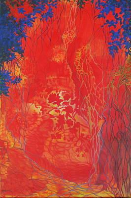 I See Through It All Art Print by M J Venrick