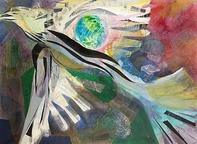 Condor Painting - Incan Condor by Tricia PoulosLeonard