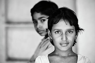 Photograph - Indian Eyes by Stefan Nielsen
