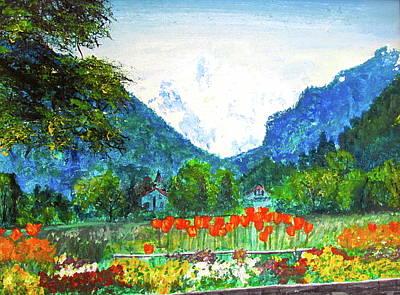 Interlaken Art Print by Beth Saffer
