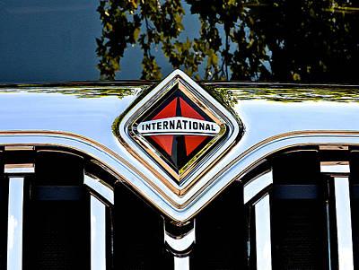 International Truck Art Print by Bill Owen