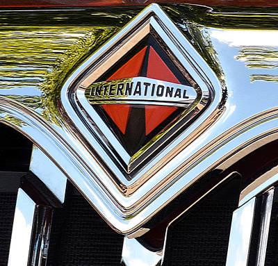 International Truck II Art Print by Bill Owen
