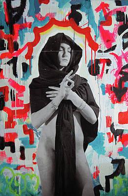 Iris Of My Eye... Art Print by Steven W Rand