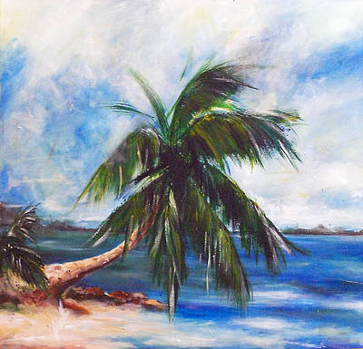 Island Iv Art Print by Amy Williams