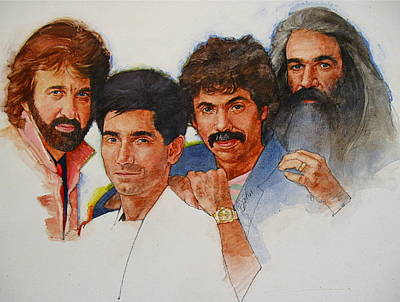 Its Country 4 - Oakridge Boys Art Print by Cliff Spohn