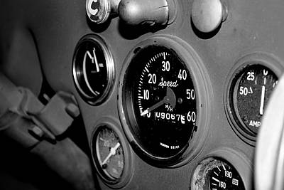 Jeep Gauges Art Print