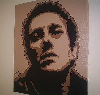 Joe Strummer Painting - Joe Strummer by Chris Mc Crossan