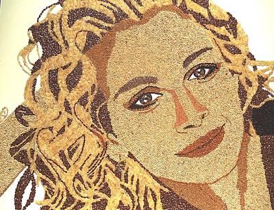 Julia Roberts Art Print by Kovats Daniela