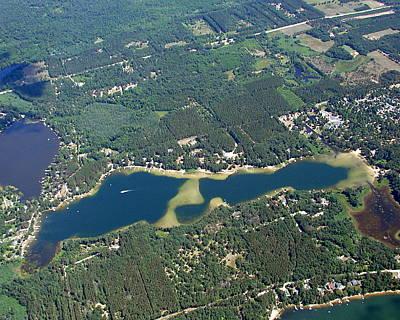 Photograph - K-011 Kusel Lake Waushara County Wisconsin by Bill Lang